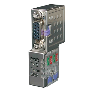 PROFIBUS DP Connector with LEDs - Fast-Connect with PG